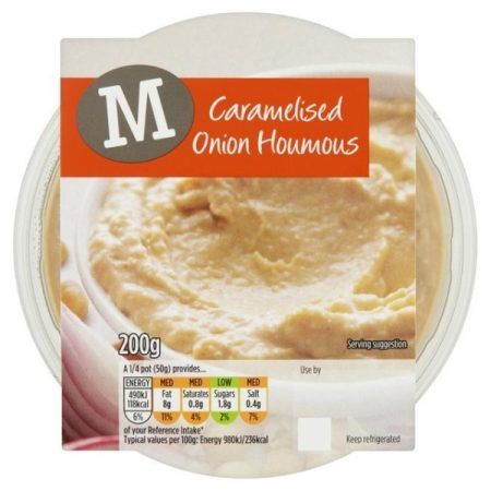 Morrisons Caramelised Onion Houmous 200g