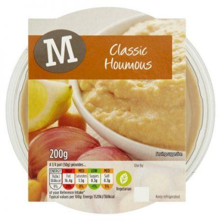 Morrisons Classic Houmous 200g