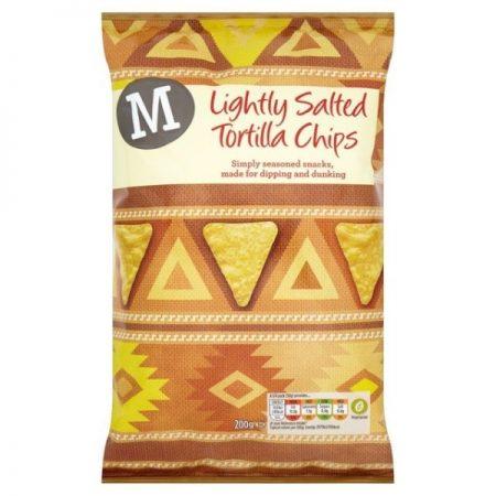 Morrisons Lightly Salted Tortillas 200g
