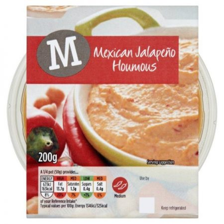 Morrisons Mexican Jalapeno Houmous 200g
