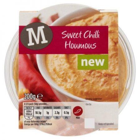 Morrisons Sweet Chilli Houmous 200g