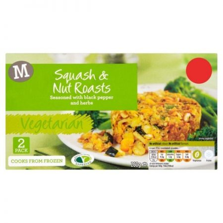 Morrisons Vegetarian Squash & Nut Roasts 260g