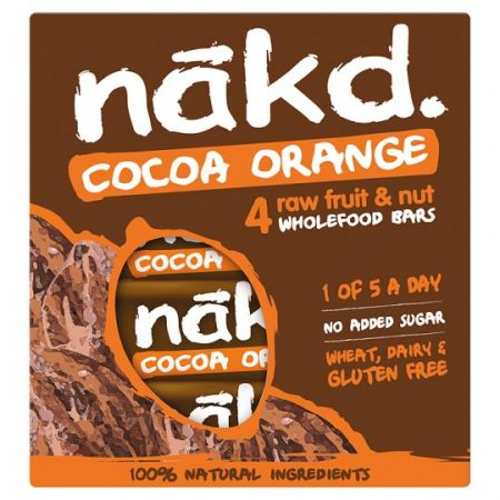 Nakd Cocoa Orange Multipack 4 X 35g