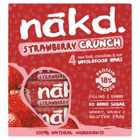 Nakd Strawberry Crunch 4 x 30g
