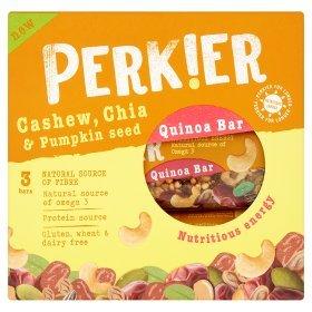 PERKIER Cashew, Chia & Pumpkin Seed Bar