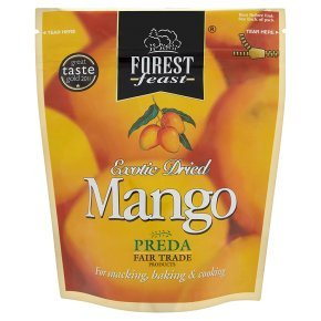 Preda forest feast exotic dried mango 130g