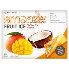 Smooze! Fruit Ice Pops Coconut + Mango 5x65ml