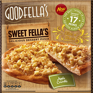 Goodfella's Sweet Fella's Dessert Pizza Apple Crumble 437g