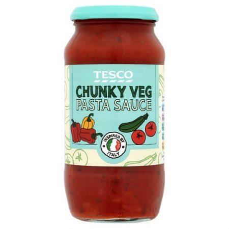 Tesco Chunky Vegetable Pasta Sauce 500g