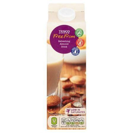 Tesco Free From Fresh Almond Milk Alternative 1 Litre
