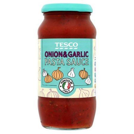 Tesco Onion And Garlic Pasta Sauce 500g