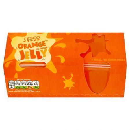 Tesco Orange Jelly 4X120g