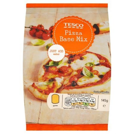 Tesco Pizza Base Mix 145g