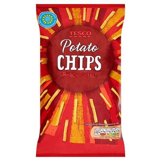 Tesco Potato Chips 150G