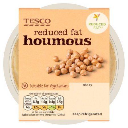Tesco Reduced Fat Houmous Dip 200g