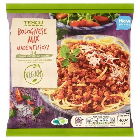 Tesco Meat Free Bolognese Mix 400g