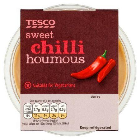 Tesco Sweet Chilli Houmous 182g