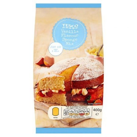 Tesco Vanilla Sponge Mix 400g