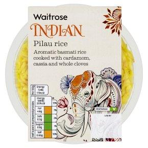 Waitrose pilau rice 300g