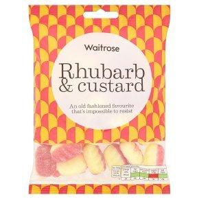 Waitrose rhubard & custard 225g