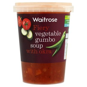 Waitrose Vegetable Gumbo Soup with Okra 600g