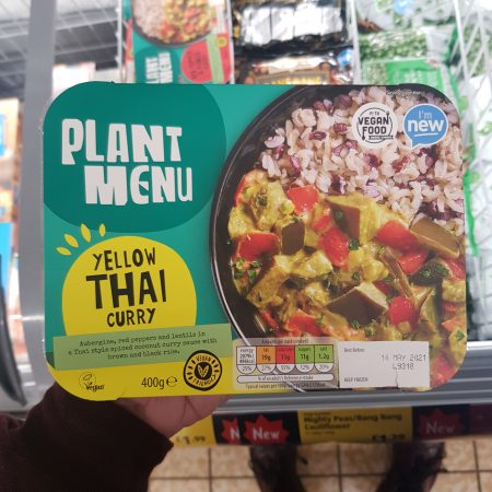 Plant Menu – Yellow Thai Curry