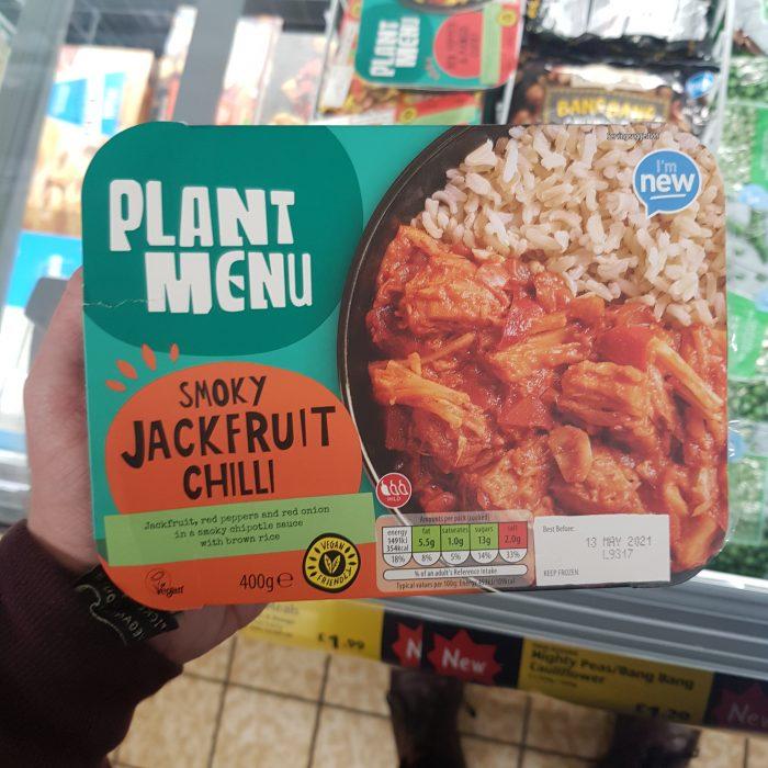 Plant Menu Smoky Jackfruit Chilli
