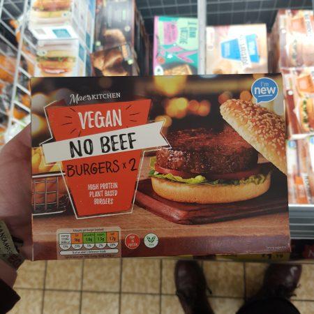 Vegan – No Beef Burgers x 2