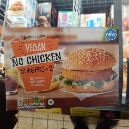 Vegan – No Chicken Burgers x 2
