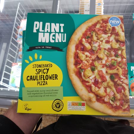 Plant Menu Spicy Cauliflower Pizza