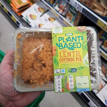 Plant Based Lentil Cottage Pie