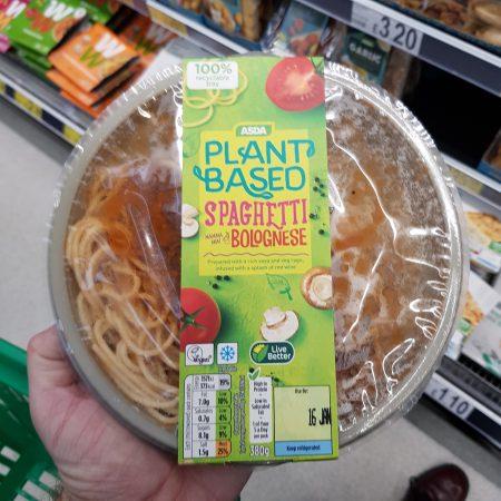 Plant Based Spaghetti Bolognaise