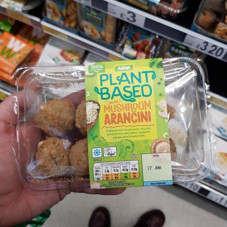 Plant Based Mushroon Arancini