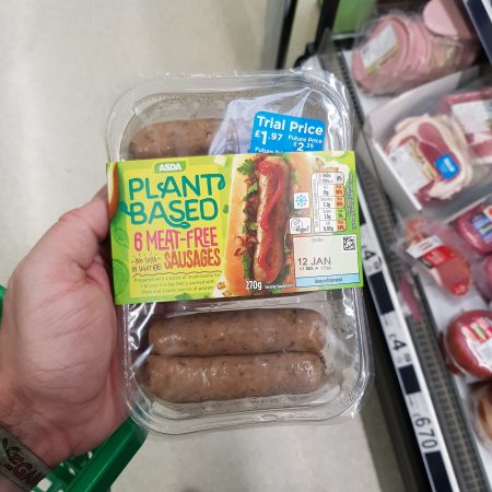Plant Based 8 Meat-Free sausages