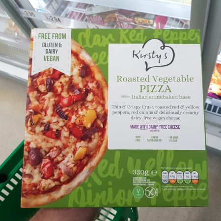 Kirsty's Roasted Vegetable Pizza