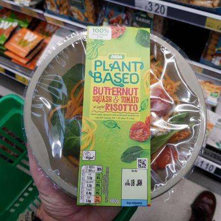 Plant Based Butternut Squash & Tomato Risotto