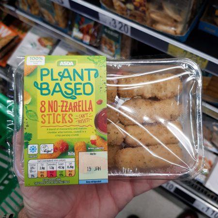Plant Based 8 No-zzarella Sticks