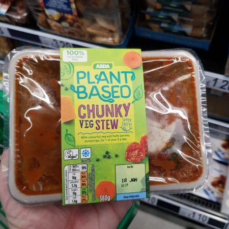 Plant Based Chunky Veg Stew