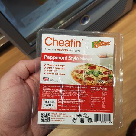 Cheatin – Pepperoni Style Slices