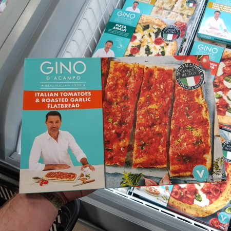 Gino D'Acampo Italian Tomatoes & Roasted Garlic Flatbread