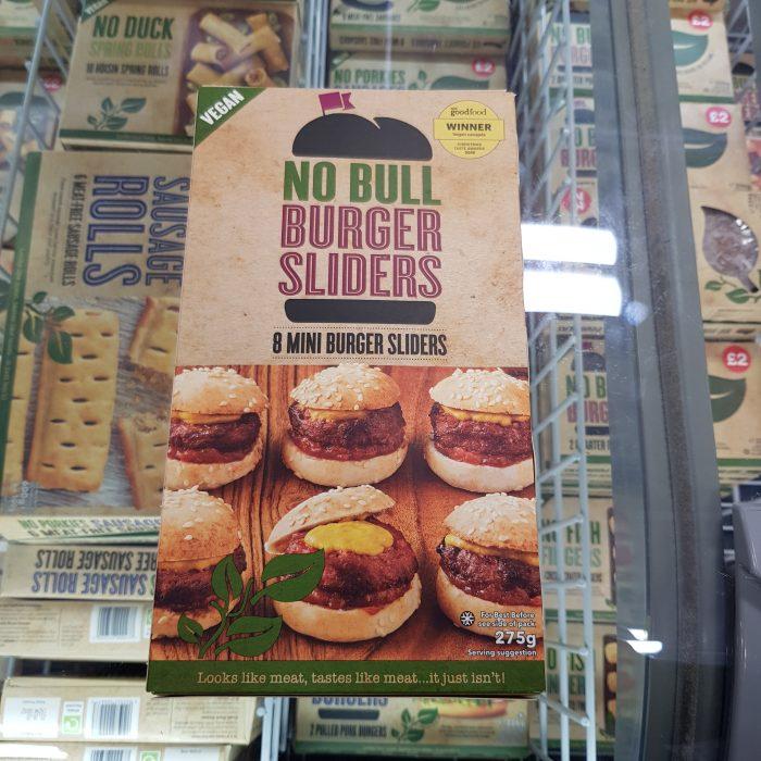 No Bull Burger Sliders – 8 Mini Burger Sliders