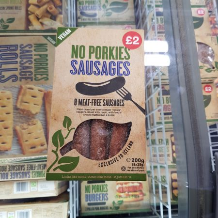 No Porkies Sausages