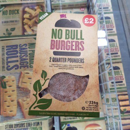 No Bull Burgers – 2 Quarter Pounders