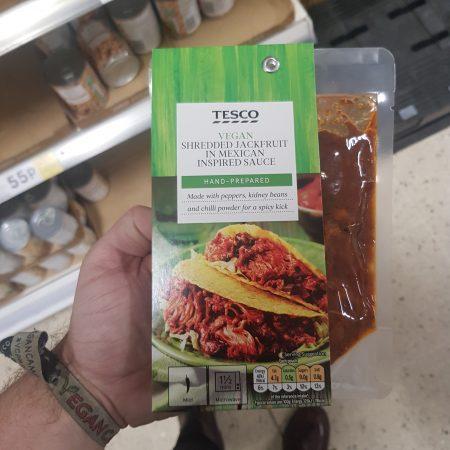 Tesco Shredded Jackfruit In Mexican Inspired Sauce
