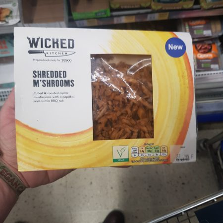 Wicked Shredded M'Shrooms