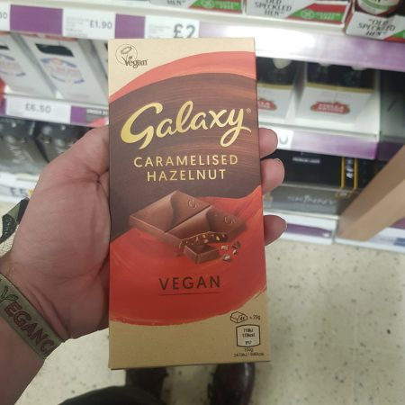 Galaxy Caramelised Hazelnut