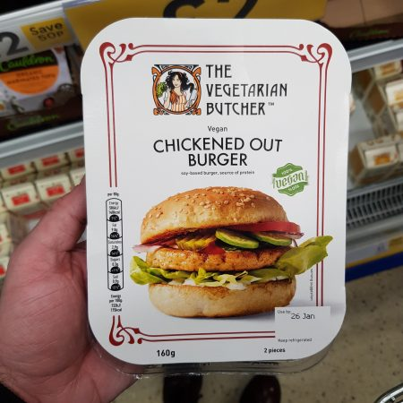 The Vegetarian Butcher Chickened Out Burger