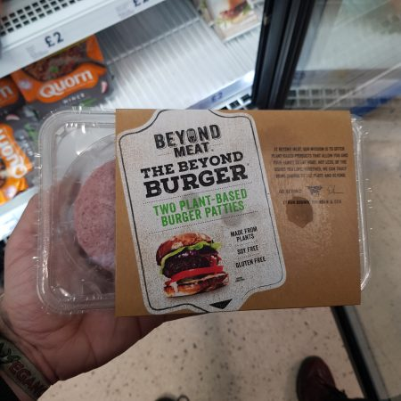 Beyond Meat Free From Meat Burger