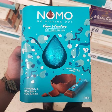 NOMO Caramel & Sea Salt Egg & Bar