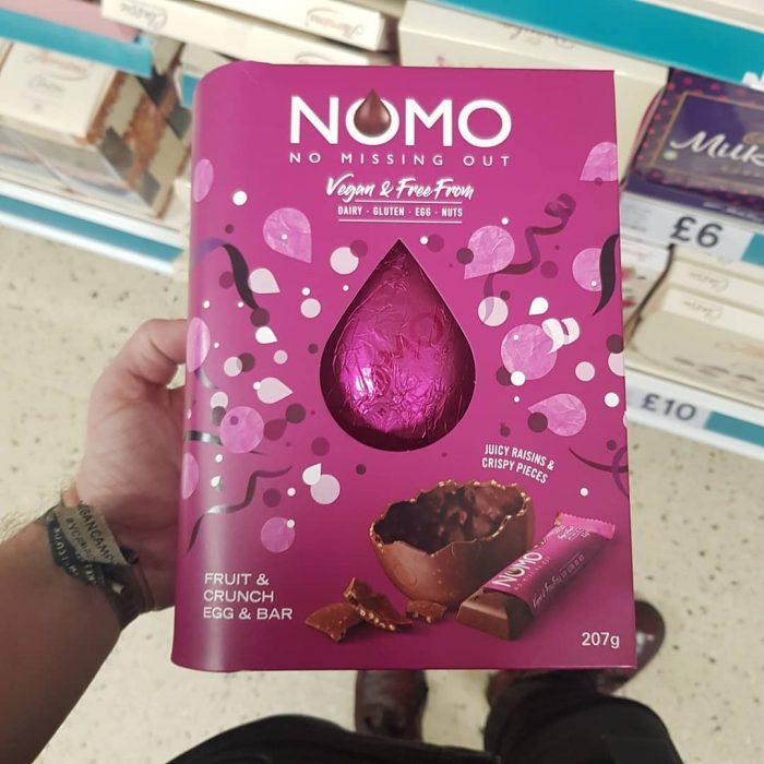 NOMO Fruit & Crunch Egg & Bar